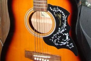 Исправление фабричного брака аккустической гитары MAXWOOD AD6611SB