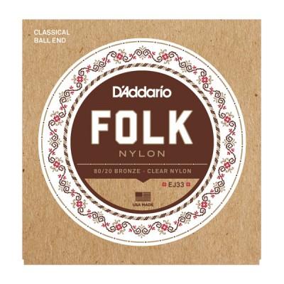 D'Addario EJ-33 струны для классической гитары