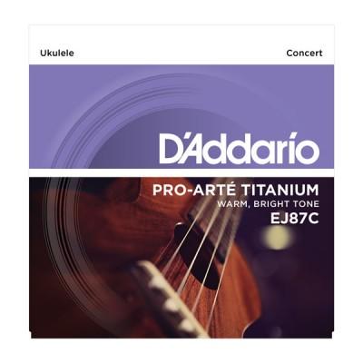 D'Addario EJ-87C струны для укулеле