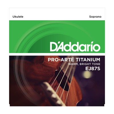 D'Addario EJ-87S струны для укулеле