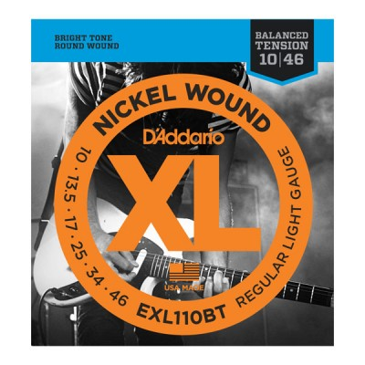 D'Addario EXL110BT струны для электрогитары 10-46