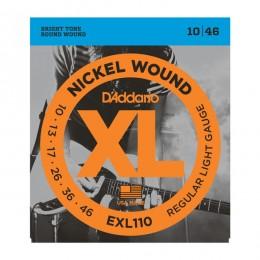 Струны для электрогитары D'Addario EXL110XL (10-46)