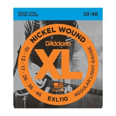 D'Addario EXL110XL струны для электрогитары 10-46