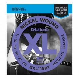Струны для электрогитары D'Addario EXL115BT (11-50)