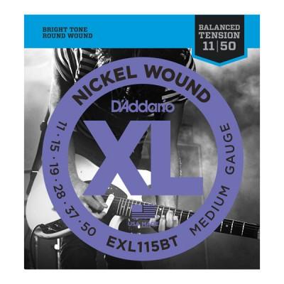 D'Addario EXL115BT струны для электрогитары 11-50