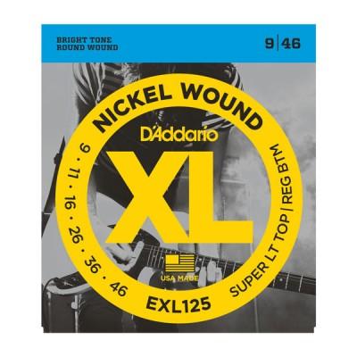 D'Addario EXL125XL струны для электрогитары 9-46