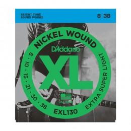 Струны для электрогитары D'Addario EXL130XL (8-38)