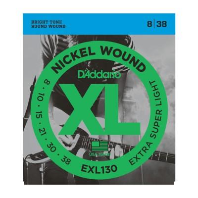D'Addario EXL130XL струны для электрогитары 8-38