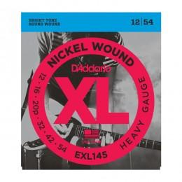 Струны для электрогитары D'Addario EXL145XL (12-54)