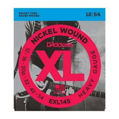 D'Addario EXL145XL струны для электрогитары 12-54