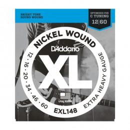 Струны для электрогитары D'Addario EXL148XL (12-60)