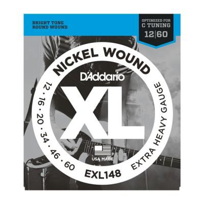 D'Addario EXL148XL струны для электрогитары 12-60