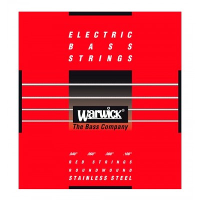 Струны для бас-гитары WARWICK 42210 Red Label Stainless (40-100)