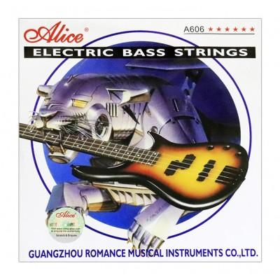 Alice A606M струны для бас-гитары 45-105