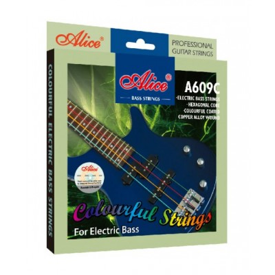 Alice A609C струны для бас-гитары 40-95