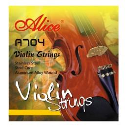 Струны для скрипки 4/4 Alice A704