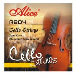 Струны для виолончели 4/4 Alice A804