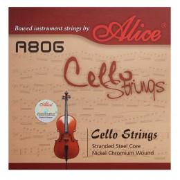 Струны для виолончели 4/4 Alice A806