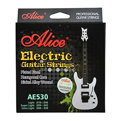 Alice AE530XL струны для электрогитары 8-38
