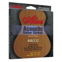 Alice AW332L струны для акустической гитары 12-53