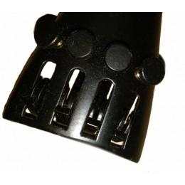 Металлический подгрифник(струнодержатель) с машинками для микроподстройки и с синтетической жилкой для скрипки