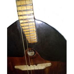 Демонтаж старых и установка новых струн на 4-струнную домру