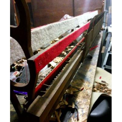 Ремонт и регулировка демпферного узла пианино