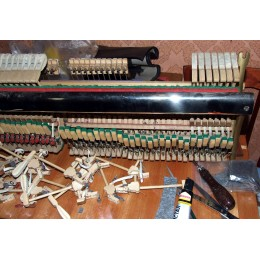 Ремонт молоточков пианино