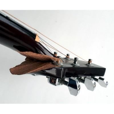 Склейка поломанного грифа гитары